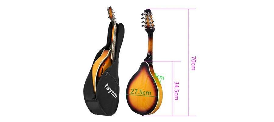 Rayzm mandolina de musica